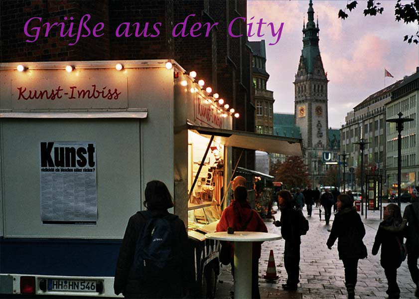 Kunst-Imbiss Chronik