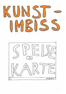 Kunst-Imbiss_Speisekarte